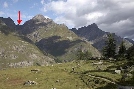 VBlick zum Col de la Finestra