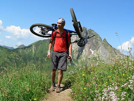 Aufstieg zum Hornbachjoch