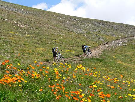 Aufstieg zum Passo Cassana