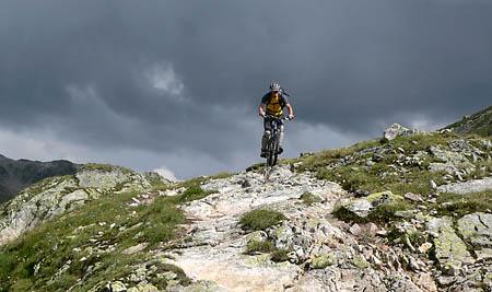 Gewitterstimmung im Val Ravaisch